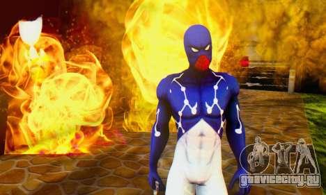 Skin The Amazing Spider Man 2 - Suit Cosmic для GTA San Andreas