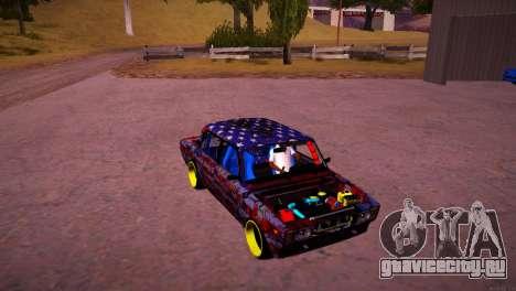 ВАЗ 2105 Drift для GTA San Andreas вид сзади