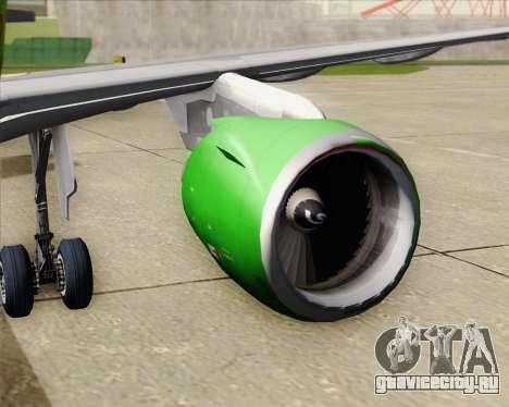 Airbus A320-214 S7-Siberia Airlines для GTA San Andreas салон