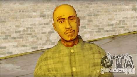 Los Aztecas Gang Skin v1 для GTA San Andreas третий скриншот