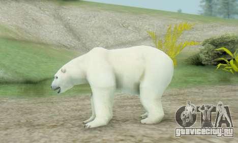 Polar Bear (Mammal) для GTA San Andreas второй скриншот