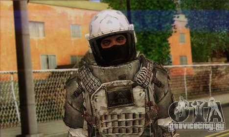 Task Force 141 (CoD: MW 2) Skin 3 для GTA San Andreas третий скриншот