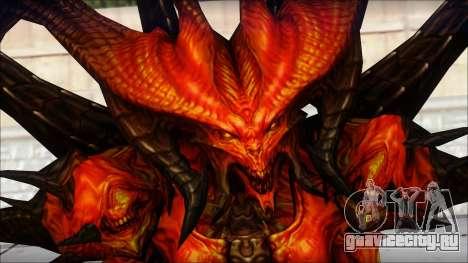 Diablo From Diablo III для GTA San Andreas третий скриншот