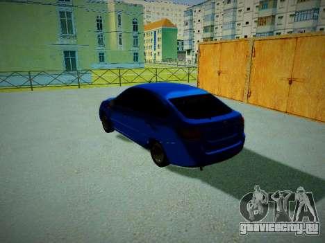 Lada Granta Liftback для GTA San Andreas вид слева