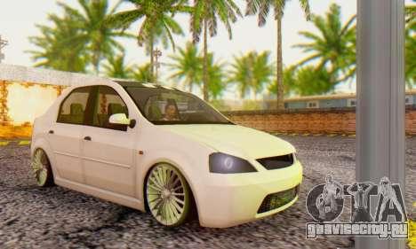 Dacia Logan ZYCU для GTA San Andreas