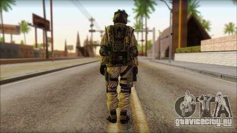 Солдат ЕС (AVA) v4 для GTA San Andreas второй скриншот