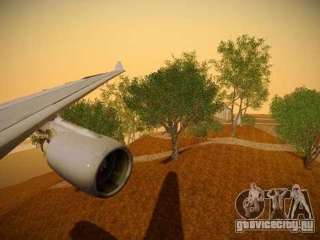 Airbus A330-200 Jetstar Airways для GTA San Andreas двигатель