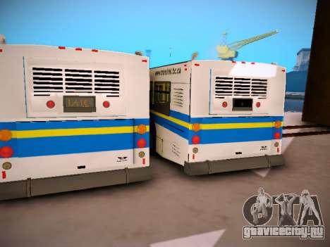 NewFlyer D40LF TransLink Vancouver BC для GTA San Andreas вид изнутри