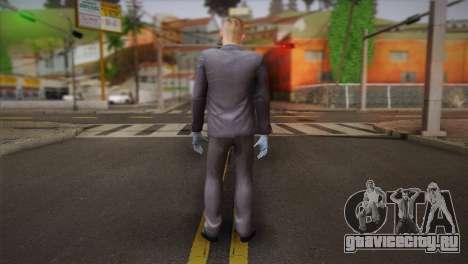 Hoxton From Pay Day 2 v2 для GTA San Andreas второй скриншот