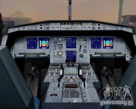 Airbus A330-300 Singapore Airlines для GTA San Andreas салон