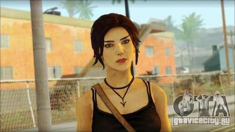 Tomb Raider Skin 4 2013 для GTA San Andreas третий скриншот