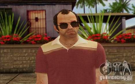 Trevor Phillips Skin v6 для GTA San Andreas третий скриншот