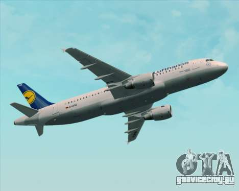 Airbus A320-211 Lufthansa для GTA San Andreas колёса