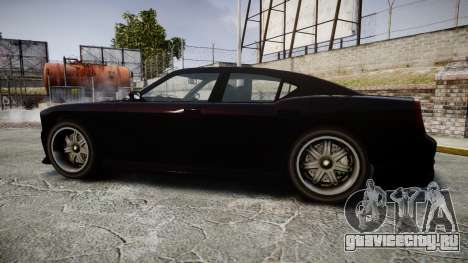 Bravado Buffalo FIB Modified для GTA 4 вид слева