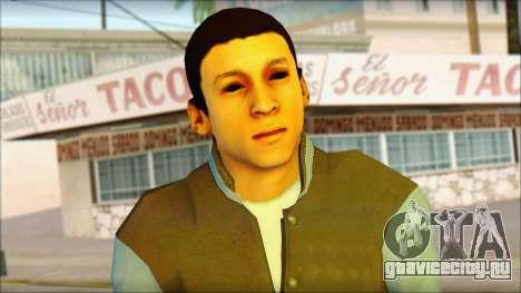 Los Aztecas Gang Skin v2 для GTA San Andreas третий скриншот