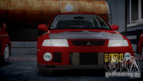 Mitsubishi Lancer Evolution VI Rally для GTA 4
