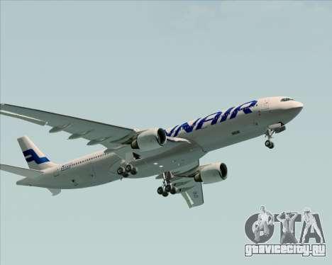 Airbus A330-300 Finnair (Current Livery) для GTA San Andreas вид сверху