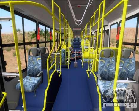 Caio Induscar Millennium BRT Viacao Gato Preto для GTA San Andreas вид снизу