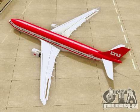 Airbus A330-300 LTU International для GTA San Andreas вид сверху