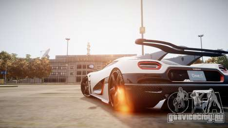 Koenigsegg Agera One:1 air core для GTA 4 вид слева