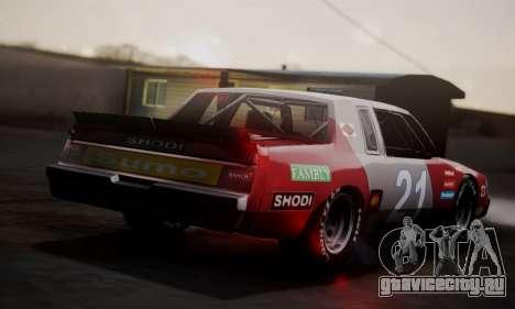 Buick Regal 1983 для GTA San Andreas вид справа