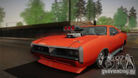 GTA 4 Dukes Tunable для GTA San Andreas вид сзади слева