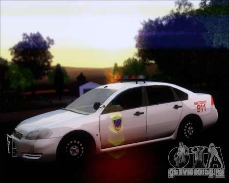 Chevrolet Impala 2006 Tallmage Batalion Chief 2 для GTA San Andreas