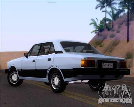 Chevrolet Opala Diplomata 1987 для GTA San Andreas вид сзади слева