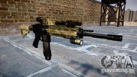 Автоматический карабин Colt M4A1 devgru для GTA 4