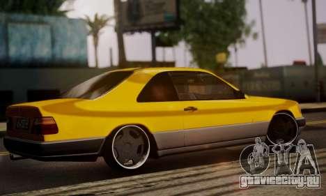 Mercedes-Benz C124 для GTA San Andreas вид слева
