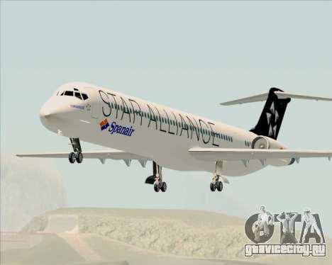 McDonnell Douglas MD-82 Spanair для GTA San Andreas