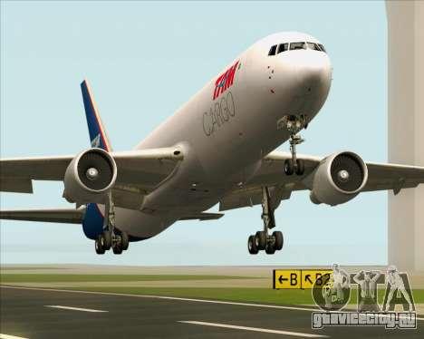 Boeing 767-300ER F TAM Cargo для GTA San Andreas вид снизу
