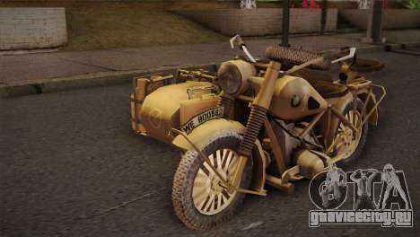 BMW R75 Desert from Forgotten Hope 2 для GTA San Andreas