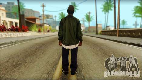 Eazy-E Green v2 для GTA San Andreas второй скриншот