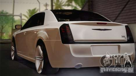 Chrysler 300C 2011 для GTA San Andreas вид слева