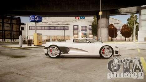 Entity XF для GTA 4 вид слева