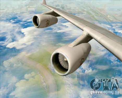 Airbus A340-313 Emirates для GTA San Andreas двигатель