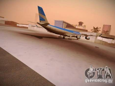 Airbus A340-300 Aerolíneas Argentinas для GTA San Andreas вид изнутри