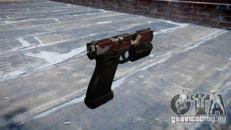 Пистолет Glock 20 bloodshot для GTA 4 второй скриншот