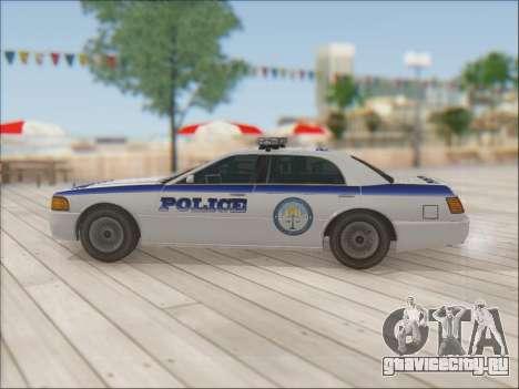 Admiral Police для GTA San Andreas салон