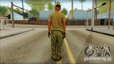 GTA 5 Soldier v2 для GTA San Andreas второй скриншот
