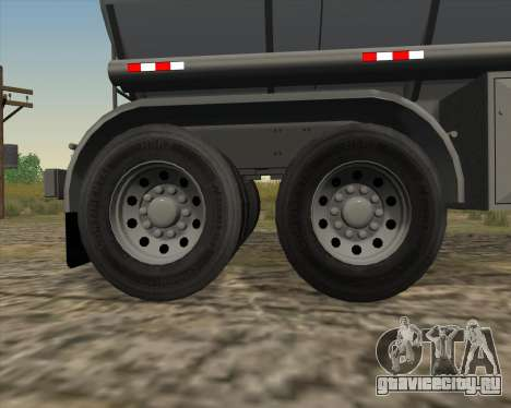 Прицеп цистерна Carro Copec для GTA San Andreas вид сбоку