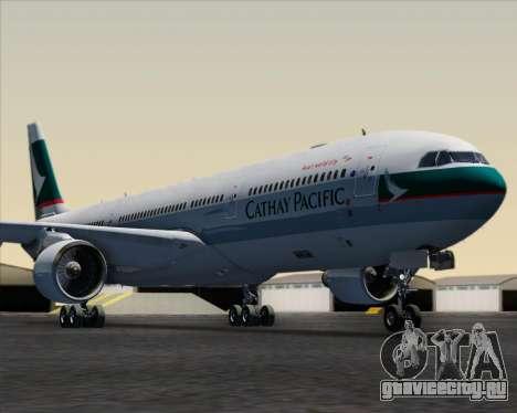 Airbus A330-300 Cathay Pacific для GTA San Andreas салон