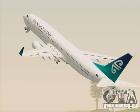 Boeing 737-800 Air New Zealand для GTA San Andreas колёса