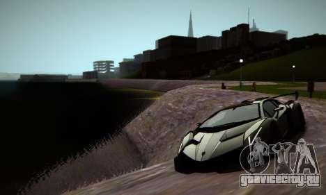 ENB Series by phpa v5 для GTA San Andreas шестой скриншот