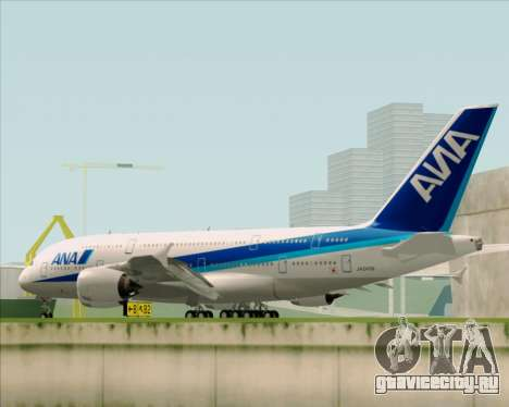 Airbus A380-800 All Nippon Airways (ANA) для GTA San Andreas вид сбоку