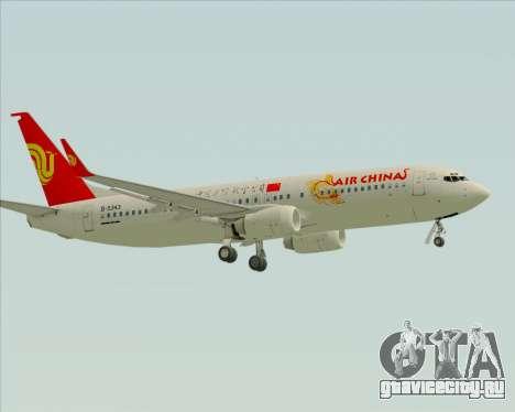 Boeing 737-89L Air China для GTA San Andreas вид сзади