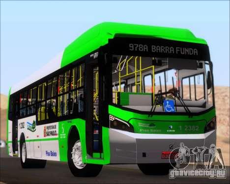 Caio Induscar Millennium BRT Viacao Gato Preto для GTA San Andreas двигатель