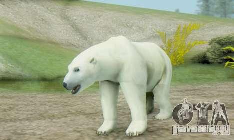 Polar Bear (Mammal) для GTA San Andreas
