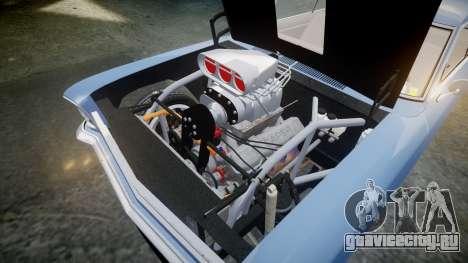 Chevrolet II Nova SS 1966 Custom [EPM] PJ1 для GTA 4 вид изнутри